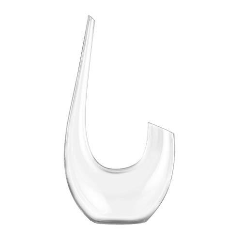 Decantadores De Cristal Interior para El Hogar De Vino Cristal Personalizado De Lujo Ligero Interior Creativo Personal (Color : Transparent, Size : 6.2 * 35.2cm)