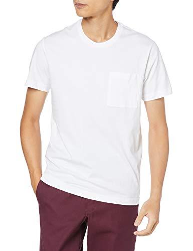 [Goodthreads] クルーネック スリムフィット 半袖 Tシャツ メンズ ホワイト L