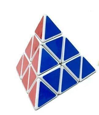 LIUYB Regalos 3X3X3 la pirámide del triángulo mágico del Rompecabezas del Cubo del Cubo Profesional Velocidad Cubos Juego Divertido Juguete Educativo for los niños de los niños (Color : W2)