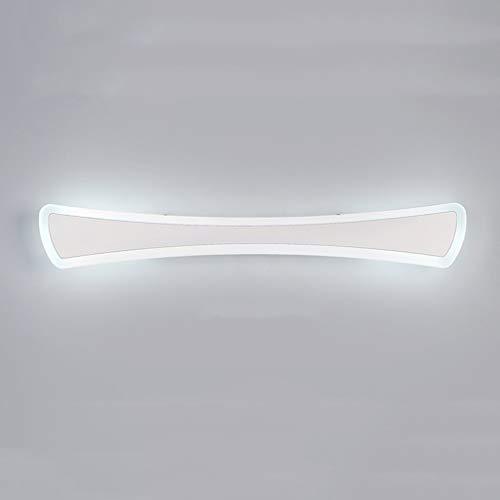 Carl Artbay Shuai Beautiful Lamp * LED spiegel spiegel spiegel ligh waterdichte badverlichting anti-condens spiegel licht make-up licht poeder spiegel lichten (kleur: warm licht 12W / 40cm)