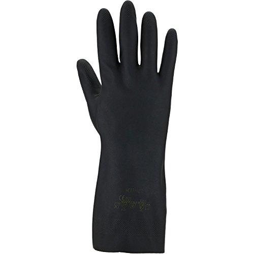 ASATEX Chemikalienschutz-Handschuh - Neoprene 3470, grau, Gr. 10 (10 Paar)