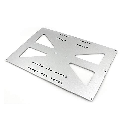 VIKTK 3D Printer Parts Fit For Prusa I3 XL Hot Bed, Upgraded Aluminum Plate
