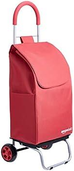 Amazon Basics Folding Shopping Cart Converts into Dolly