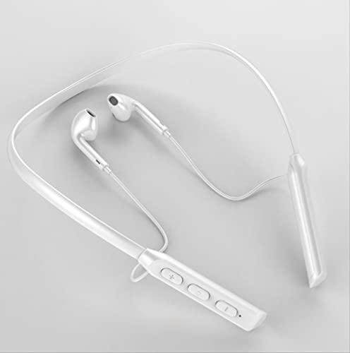 Auriculares colgantes cuello Bluetooth deportes inalámbricos en el oído Running Game GB / 03 (blanco)