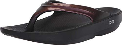 OOFOS – OOlala – Damen-Sandale nach dem Training, Violett (Cabernet), 40 EU