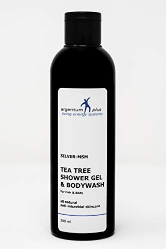Gel Douche au Tea Tree Argent-MSM - 200 ml