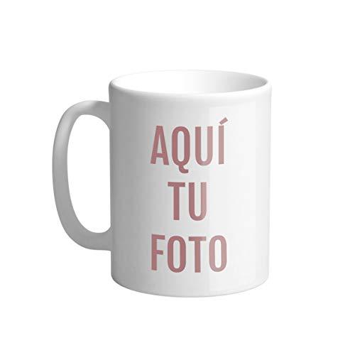 AR Regalos Taza Blanca Personalizada con Foto