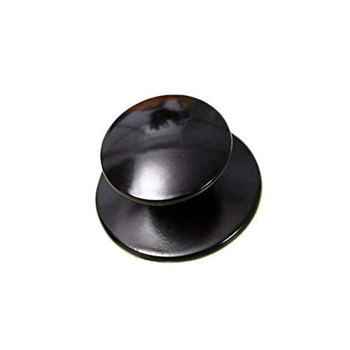Milopon 2X Poignées de Couvercle Casserole Bouchons Rechange Meuble Accessoires pour Pot Bouilloire Marmite Auto-cuiseur Cuisine