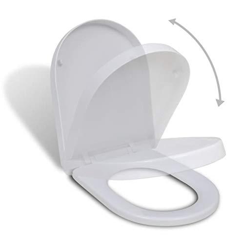 vidaXL WC Sitz Absenkautomatik Toilettendeckel Toilettensitz Klodeckel Brille