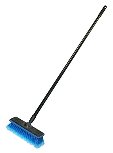 Carrand 93058 General Purpose Wash Brush with 48' Handle and 10' Brush Head