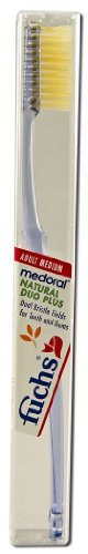 Duo Plus Natural Med Toothbrush 10/CAS by Fuchs