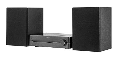 Krüger & Matz km1808SISTEMA MICRO con DVD, HDMI, USB, BT, NFC, Radio DAB +, FM Nero