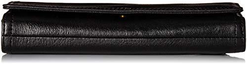 Fossil Women's Logan Leather RFID-Blocking Flap Clutch Wallet 4