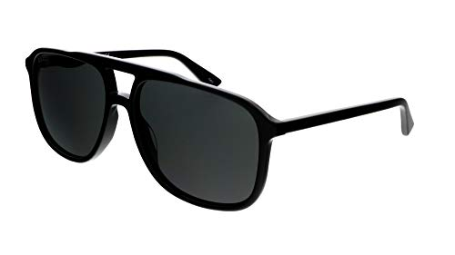 Gucci GG0262S BLACK/GREY 58/16/145 Mens Zonnebrillen