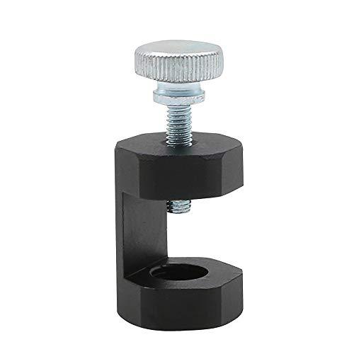 DEDC 1 pz Pinza per Candela di Accensione Strumento Calibro in Alluminio Billetta Precisione 14 mm per Auto Candela di Accensione Nero