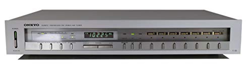 Onkyo T-35 Stereo Tuner in Silber
