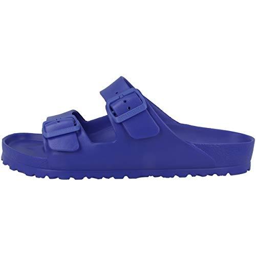 Birkenstock Arizona, Sandali Unisex-Adulto, Blu (Ultra Blue), 44 EU