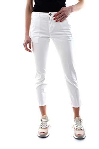 40WEFT Melita 5215 50906 Pantalone Donna Bianco 40