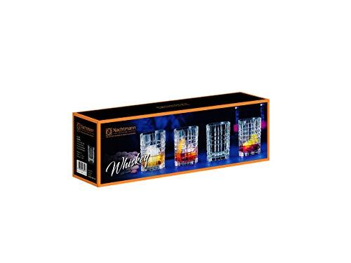 Spiegelau & Nachtmann, 4-teiliges Whiskygläser-Set, 345 ml, Square,101050