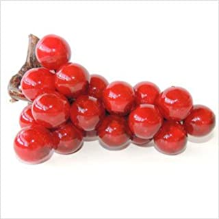 Italian Alabaster Stone Grapes - Red 7