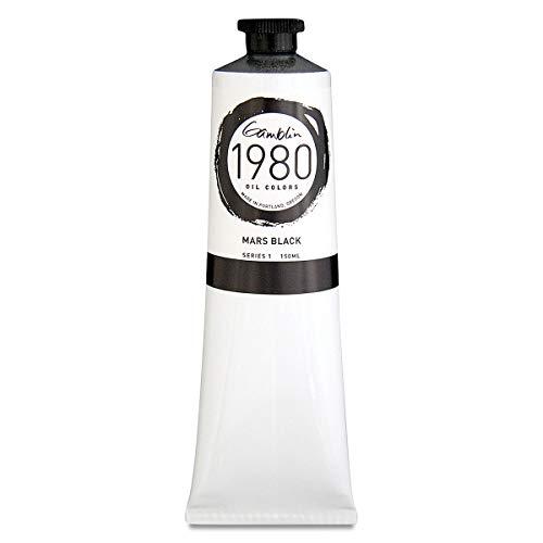 Gamblin 1980 Oil Mars Black 150Ml