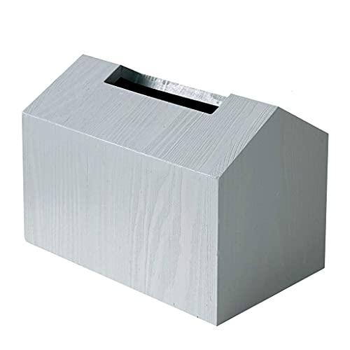 LAMZH Caja de Tejido - Tenedor de Cubierta de Papel de Papel de bambú Cuadrado de Madera para bambú para Tapa de tocador de baño, cómodos de Dormitorio, Soportes nocturnos,Linda