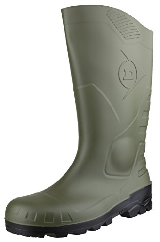 Dunlop Devon, Botas de Seguridad Unisex Adulto, Verde Green, 39 EU