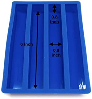 Willow Trail - Silicone 4 Cavity Casting Mold Blue
