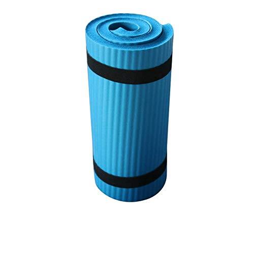 Estera Yoga, Antideslizante Suave Ejercer Alfombra - Plegable Gimnasia Pilates Cojín - Perder Peso Equipamiento Deportivo - para Principiante - Azul