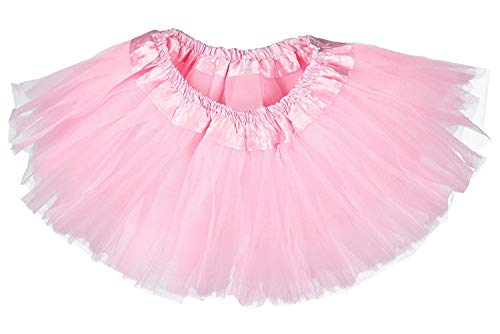 Dancina Mädchen Tüllrock Tutu Ballettrock Classic 2-7 Jahre Rosa