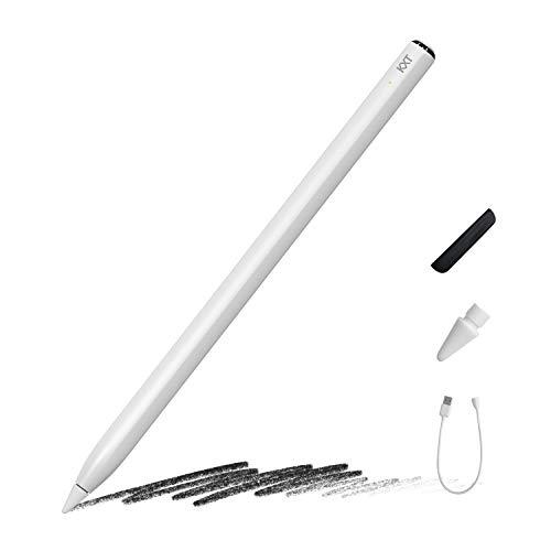 Stylus Pen for iPad Pencil with Tilt Sensitivity & Palm Rejection, Active Digital Pen for Apple iPad(2018-2020)-iPad Pro 11(1st/2nd)/12.9(3rd/4th)/Air 3-4/Mini 5/iPad 6/7/8th Generation