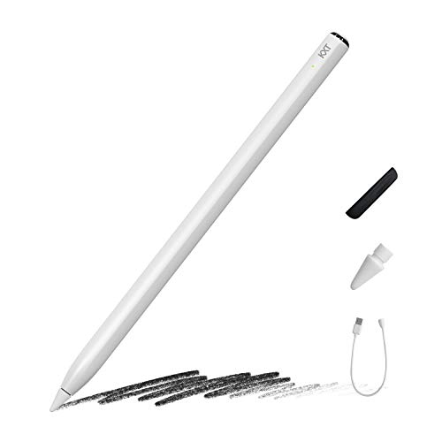 Stylus Pen for iPad Pencil with Tilt Sensitivity & Palm Rejection, Active Digital Pen for Apple iPad(2018-2020)-ipad Pro 11(1st/2nd)/12.9(3rd/4th)/Air 3-4/Mini 5/iPad 6/7/8th Generation
