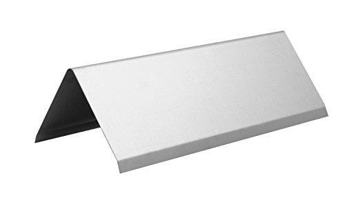 INEFA Firstblech - Dachblech Aluminium 200cm, 1 Stück - Dachrinne, für Gartenhaus und Alu Vordach, Zubehör, Fallrohr, Laubschutz