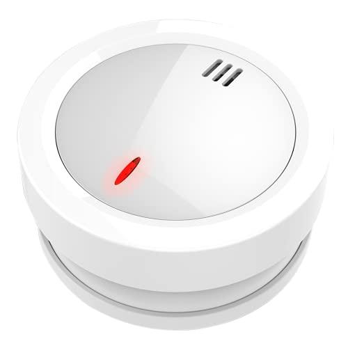 Smoke Alarm, 10-Year Product Life Smoke Detector With LED Indicator &...