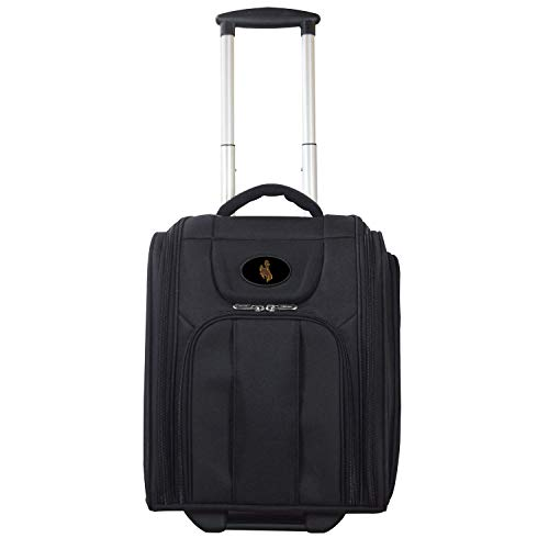Wyoming Cowboys Deluxe Wheeled Laptop Briefcase Overnighter