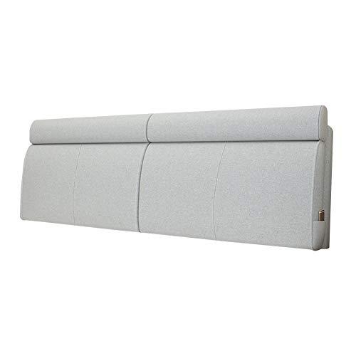 HAIPENG Cama Cojín Respaldo Lectura Almohada Grande Amortiguar por Cabecera Canapé Sofá Retirable Lavable Tapizado Lumbar (Color : C, Size : 150x10x60cm)