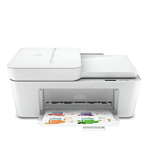 HP DeskJet Plus 4152 Wireless All-in-One Color Inkjet Printer, Mobile...