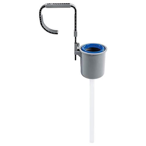 TUDUZ Oberflächen-Skimmer für Quick-up Fast-Set Frame-Pool Planschbecken Sauberes Pool-Wasser Set Wasserreinigung Einhängeskimmer (Blau)