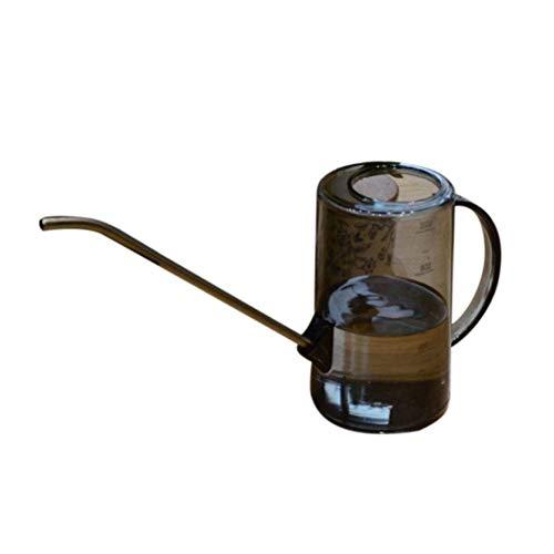 Xploit Edelstahl Gießkanne Vintage Gießkanne Long Mouth 1L Green Planting Topfpflanze Spray Pot Transparent Dünger Pot
