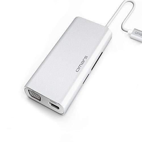 USB C Hub, OMARS Hub USB-C vers USB 3.0, HDMI 4K,...