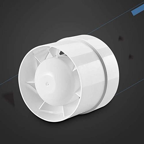 Extractor De Baño, Bathroom Extractor Ventilador, Extractor de cocina Ventilador de 5 pulgadas, Conducto, Potente Cuarto de baño silencioso, Ventilador de ventilación pequeña