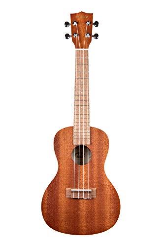 Kala Ka Ka C - Ukelele de concierto (madera de caoba, con funda)