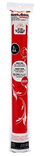 HeatnBond UltraHold Iron-On Adhesive Value Pack, 17 Inches x 5 Yards, White