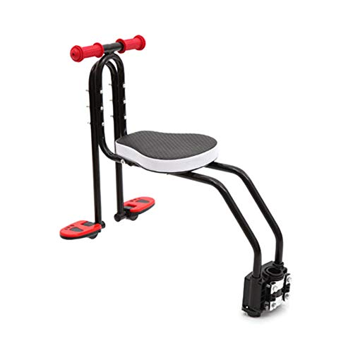 Fanville Fahrrad Baby Sitz Stuhl Mountainbike Schnellverschluss Sattel Kindersitz mit Armlehne Pedal Gepolsterter für 2-6 Jahre Alten Kindersitz