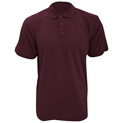 KUSTOM KIT Kustom Kit Workwear Polo Shirt für Männer (2XL) (Burgunder)