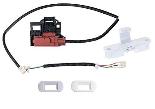 Siwdoy W10404050 Lid Lock Latch Switch and W10240513 Lid Lock Strike Compatible with Whirlpool Washing Machine W10238287 AP5263307 PS3497627
