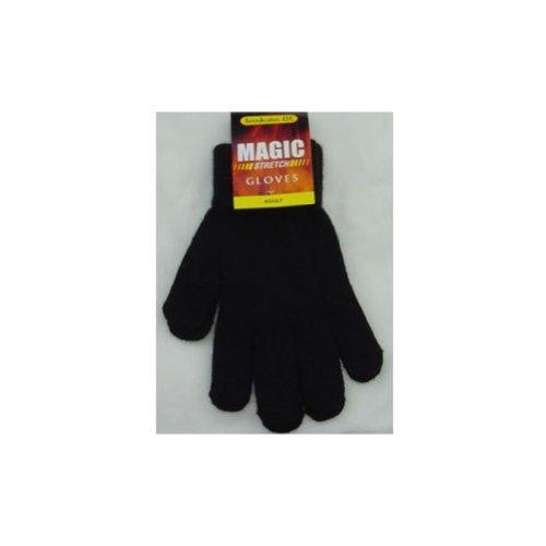 Winter Womens / Mens - Black Gloves