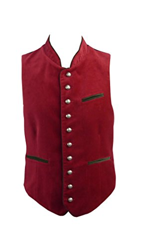 Country Line klederdrachtvest rood