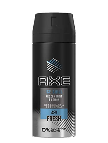 Axe Deospray Ice Chill ohne Aluminiumsalze, 150 ml