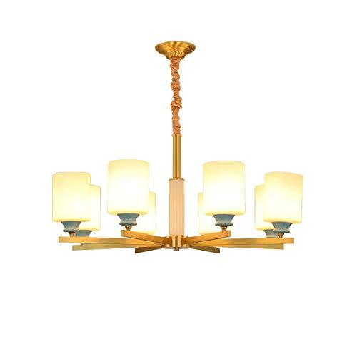 Lámpara de mesa creativa de cristal para sala de banquete de Villa